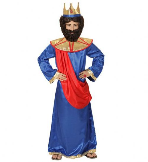 Boys Biblical King - Blue Costume Christmas Fancy Dress